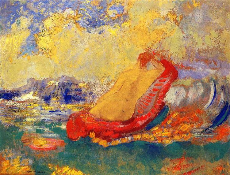The Birth of Venus, c.1910 - Odilon Redon