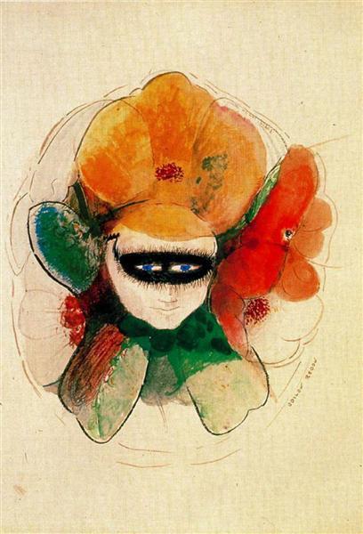 The Masked Anemone - Odilon Redon