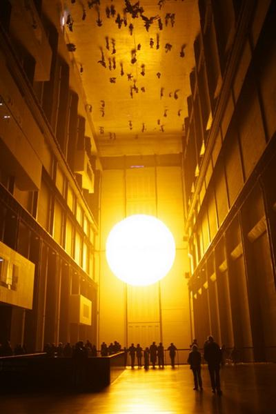The weather project, 2003 - Olafur Eliasson