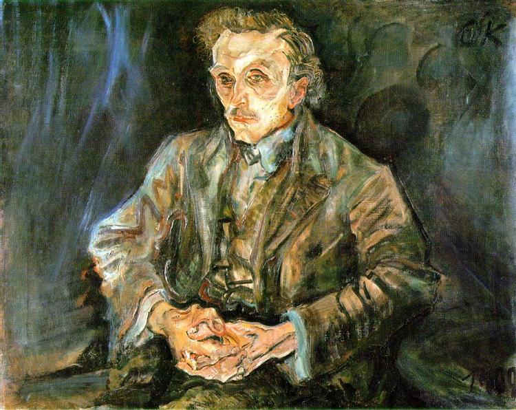Adolf Loos, 1909 - Oskar Kokoschka