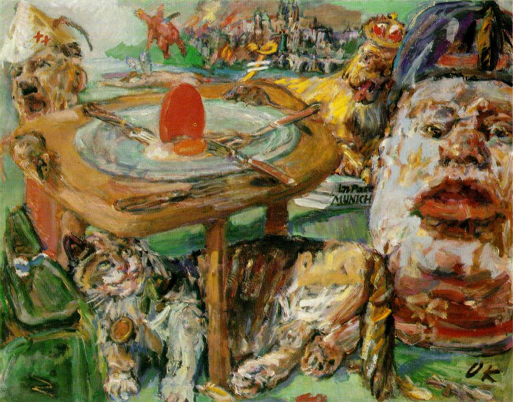 Image result for kokoschka 1941: The Red Egg