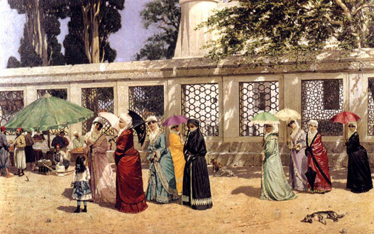Ladies Taking a Walk - Osman Hamdi