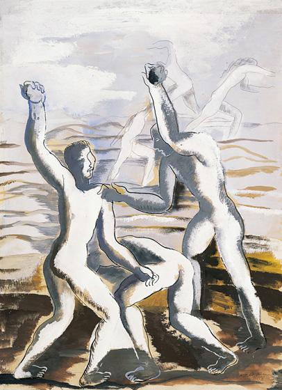 Thefight, 1938 - Ossip Zadkine
