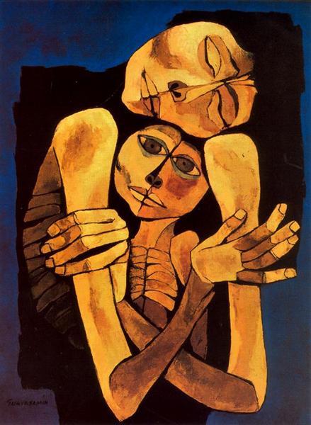 Ternura, 1989 - Oswaldo Guayasamin