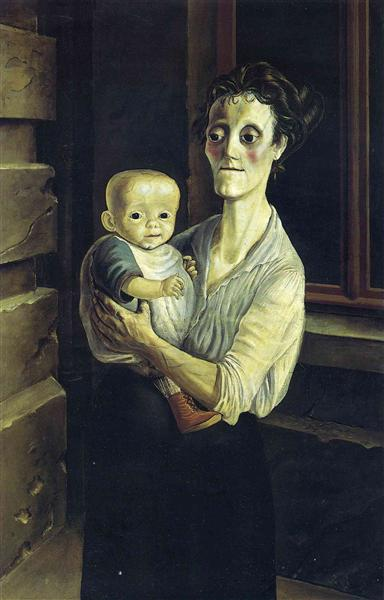 Mother with Child, 1921 - Otto Dix