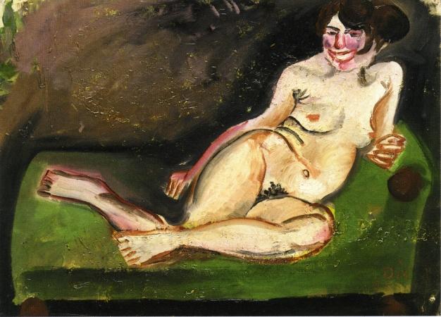 Reclining Nude, 1921 - Otto Dix