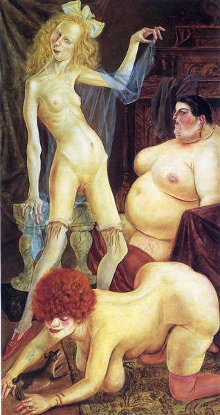 Three Wenches - Otto Dix - Neue Sachlichkeit Women