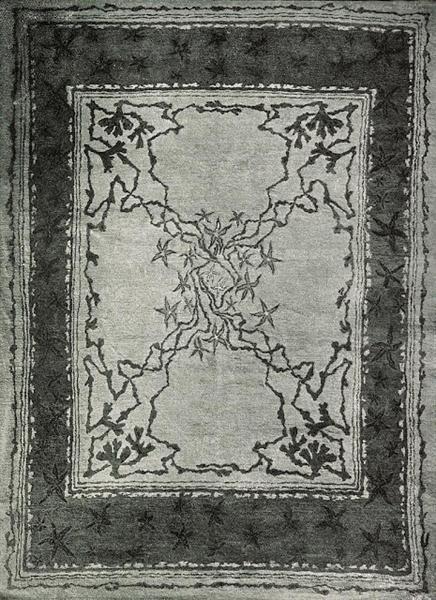 Carpet design, 1898 - Otto Eckmann