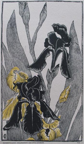Schwertlilien, 1895 - Отто Экман