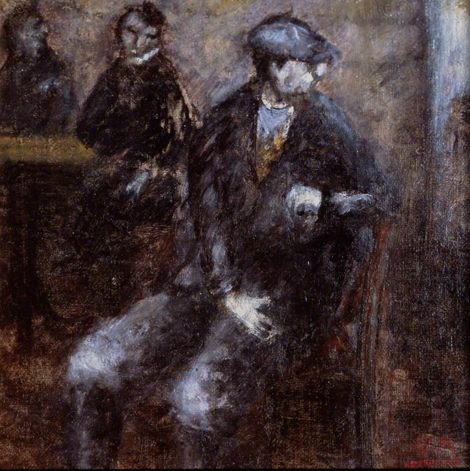 Man Waiting, 1919