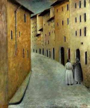 Via Toscanella, 1922 - Оттон Розай