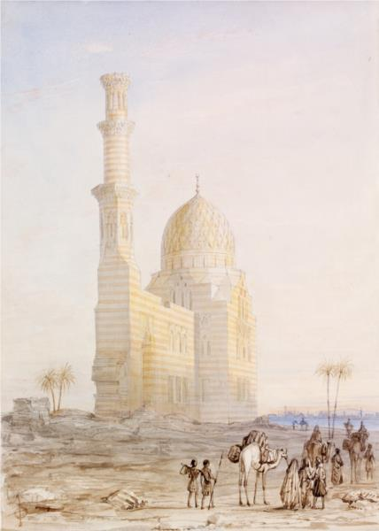 Tomb near Cairo, 1833 - Owen Jones