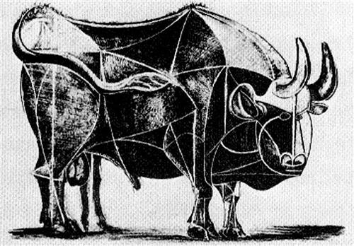 Bull (plate IV) - Pablo Picasso