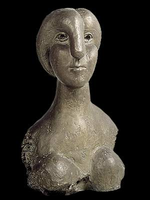Bust of woman, 1931 - Pablo Picasso