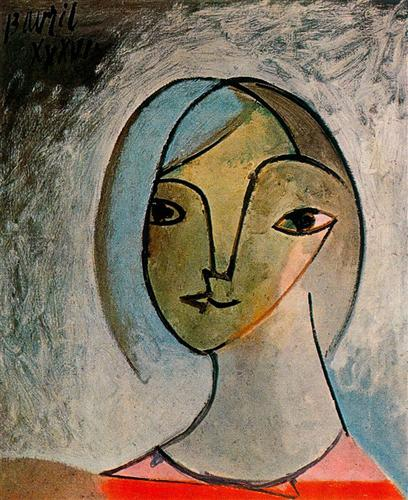 Bust of woman - Pablo Picasso