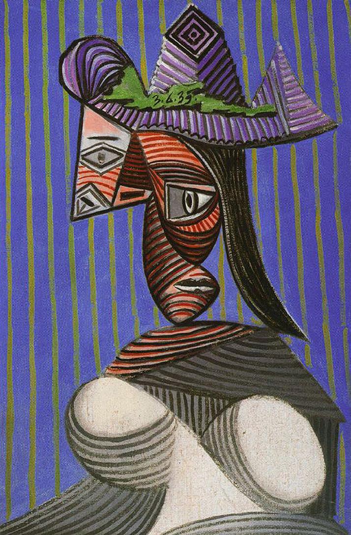Femme Cubiste, 1921 - Albert Gleizes - WikiArt.org