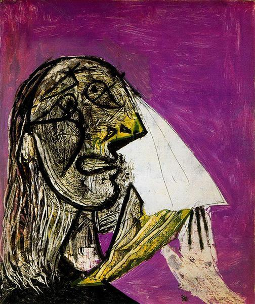 Crying woman, 1937 - Pablo Picasso