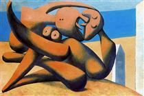 Figure al mare - Pablo Picasso
