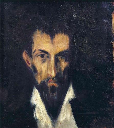 Head of a Man in El Greco style - Pablo Picasso