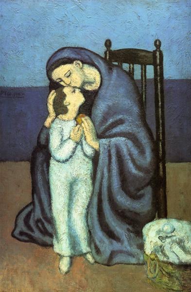 Motherhood, 1901 - Pablo Picasso