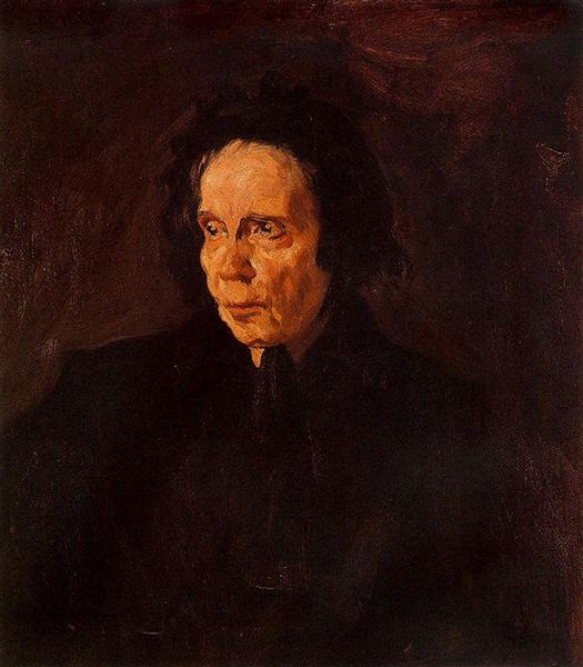 Portrait of aunt Pepa, 1896 - Pablo Picasso