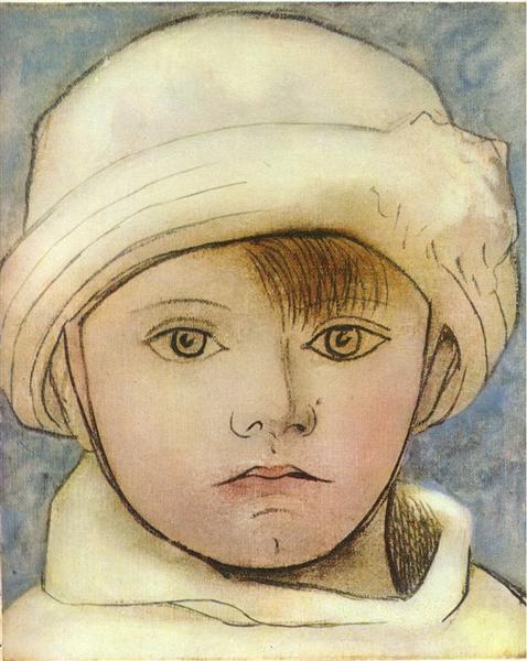Portrait of Paulo, artist's son, 1923 - Pablo Picasso