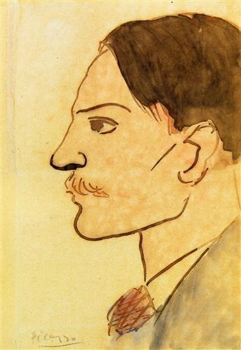 Portrait of the Artist - Pablo Picasso
