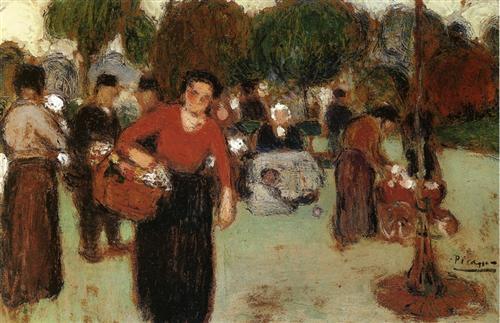Public Garden - Pablo Picasso