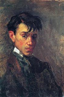 Self Portrait, 1914 - Marc Chagall - WikiArt.org