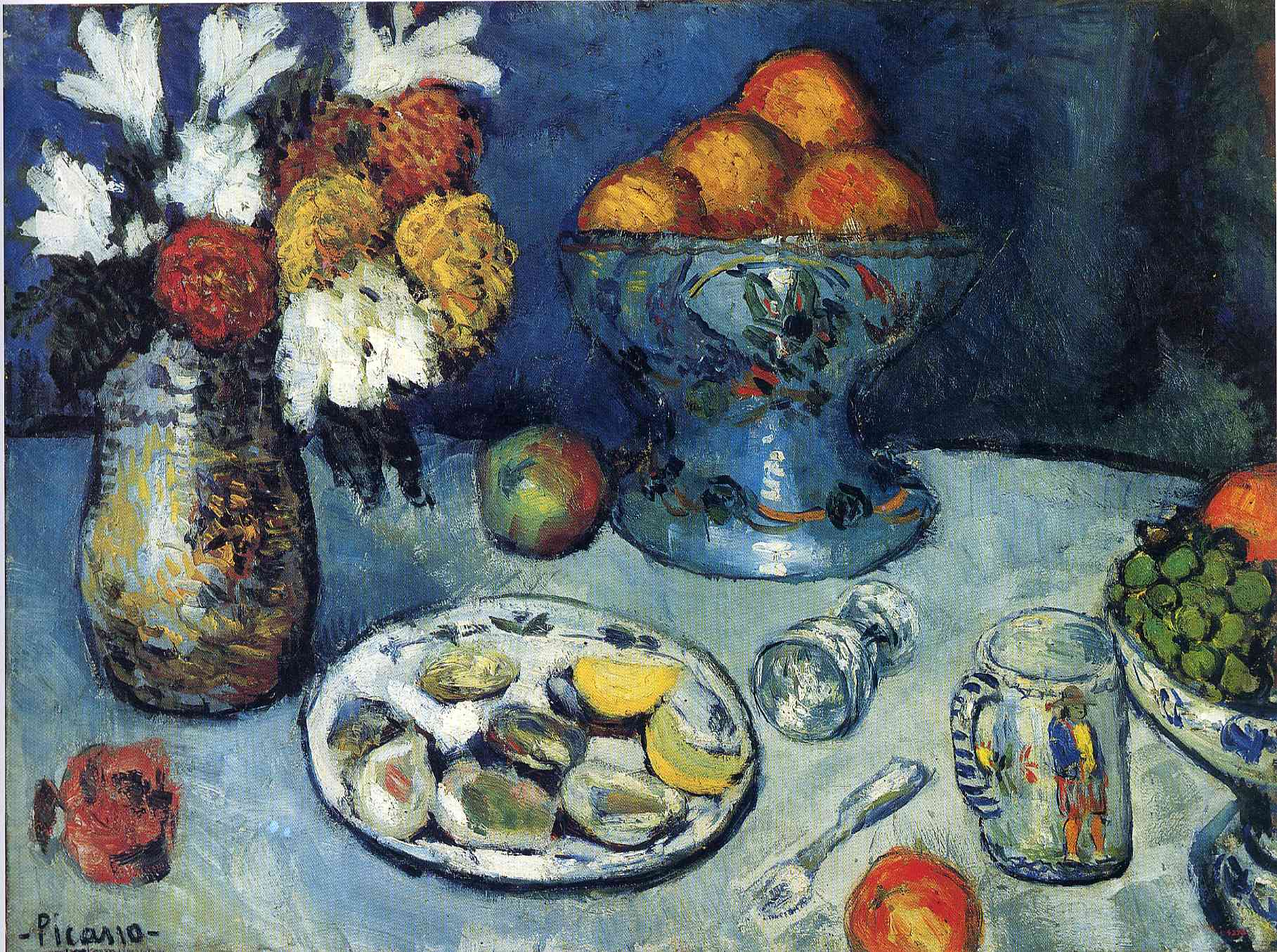 Biography of Pablo Picasso and History of His Art