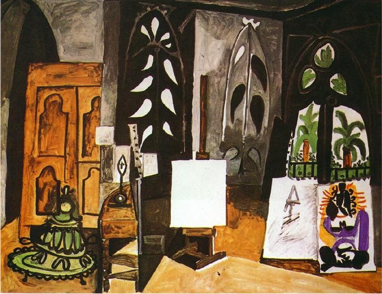 "Studio of 'California"" in Cannes, 1956 - Pablo Picasso"