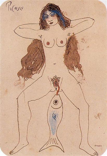 The Mackerel, 1903 - Pablo Picasso