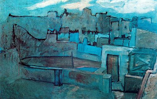 The roofs of Barcelona - Pablo Picasso
