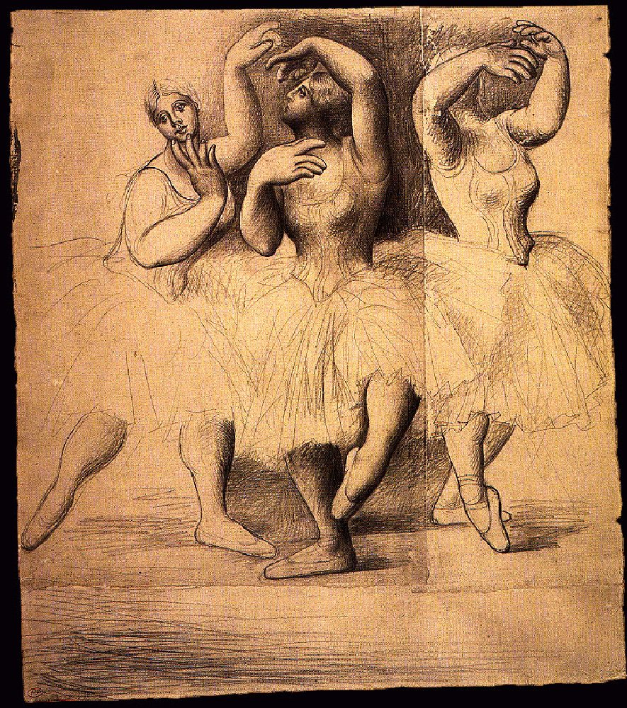 Three dancers, 1919