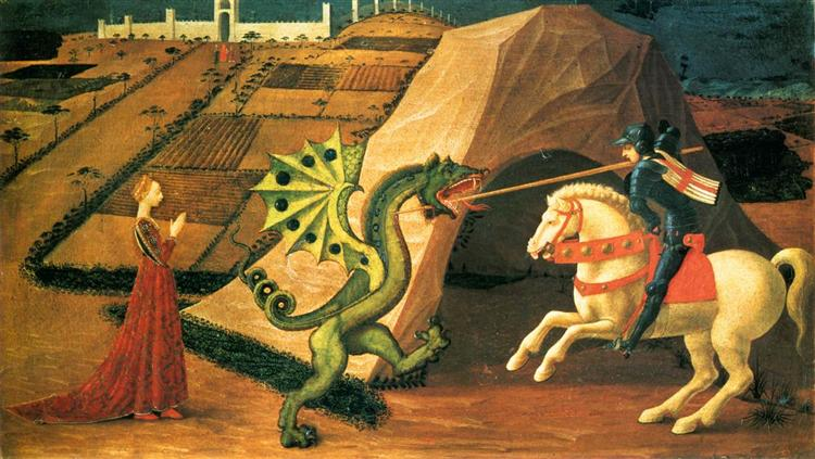 St.George and the Dragon - Paolo Uccello