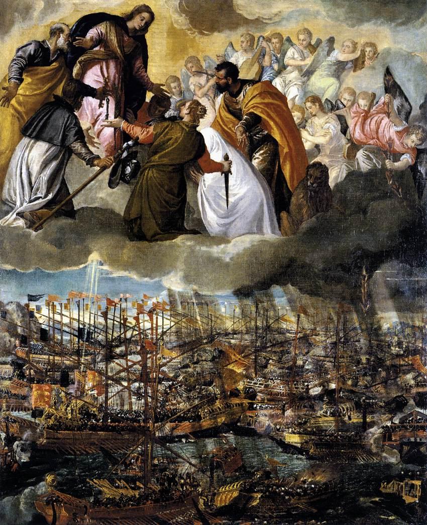 Battle of lepanto paolo veronese - Moderne overwinning ...