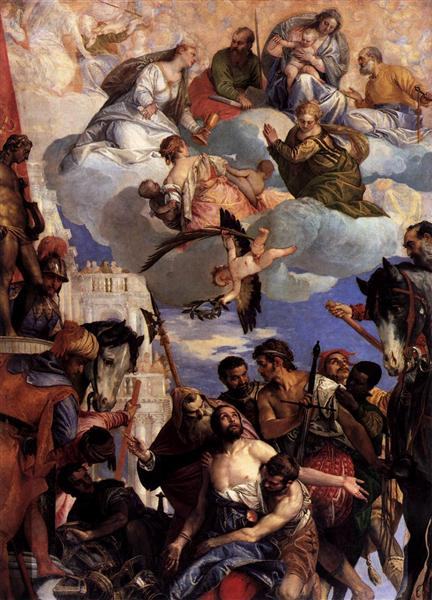 Martyrdom of Saint George - Veronese Paolo