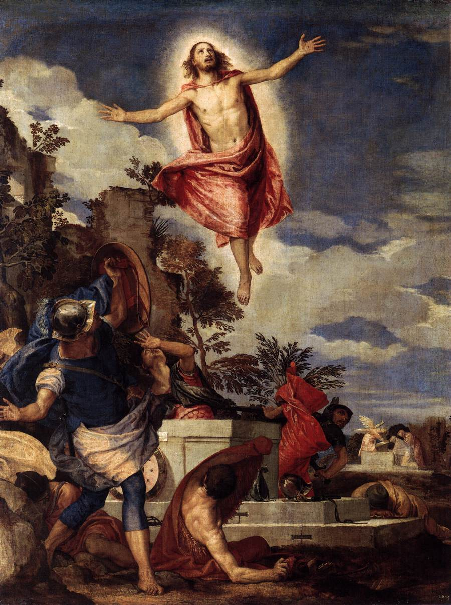 The Resurrection of Christ, c.1570 - Paolo Veronese ...