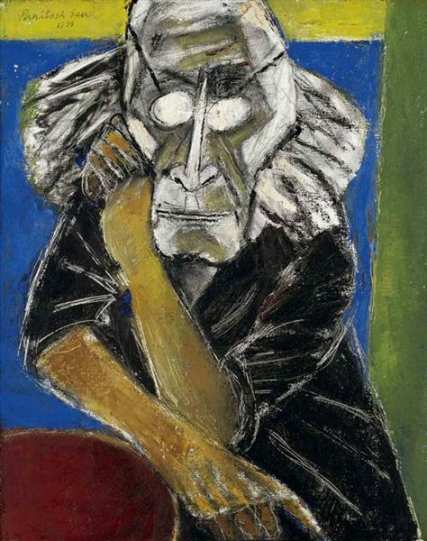 Self-Portrait, 1999 - Paritosh Sen