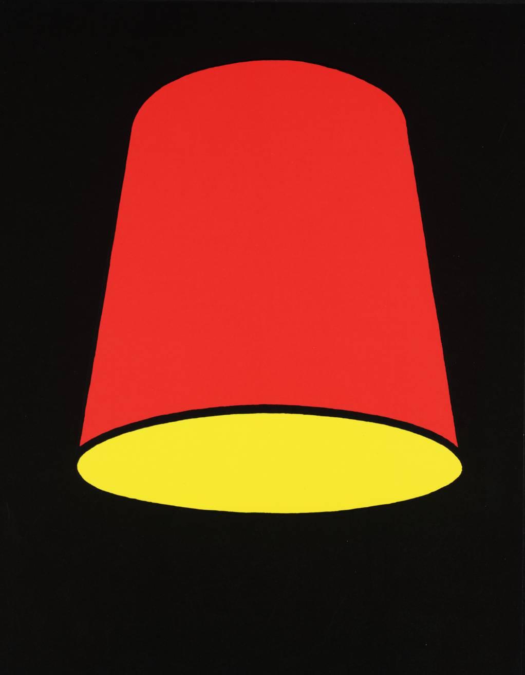 Lampshade, 1969 - Patrick Caulfield - WikiArt.org