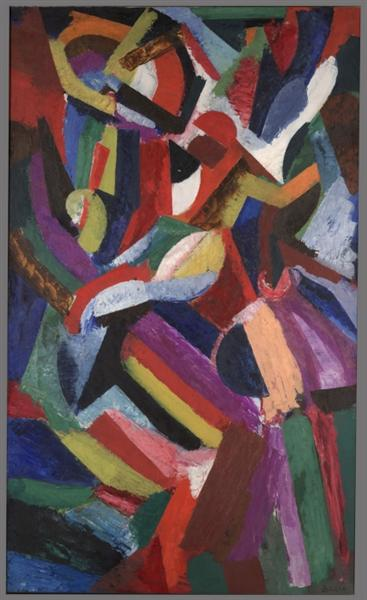 Composition III, 1916 - Patrick Henry Bruce