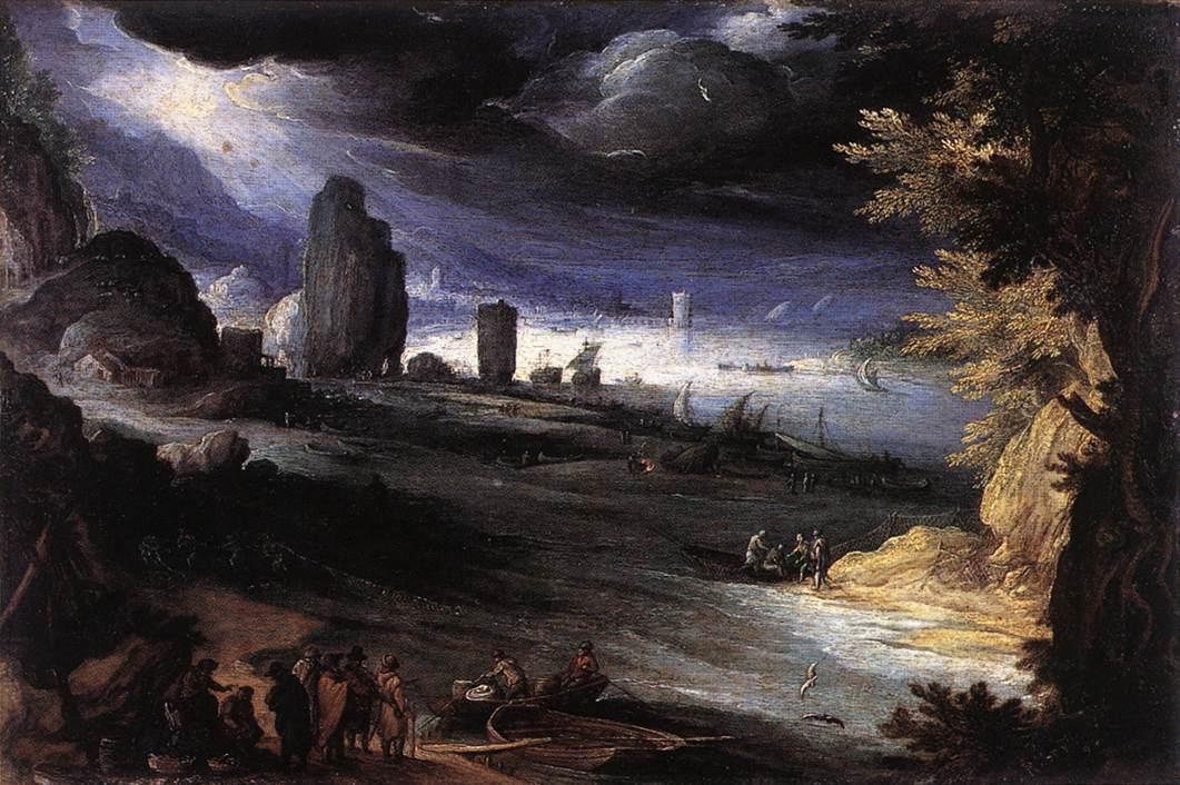 Coastal Landscape, 1596