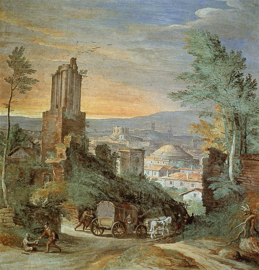 Landscape with Roman Ruins, 1580