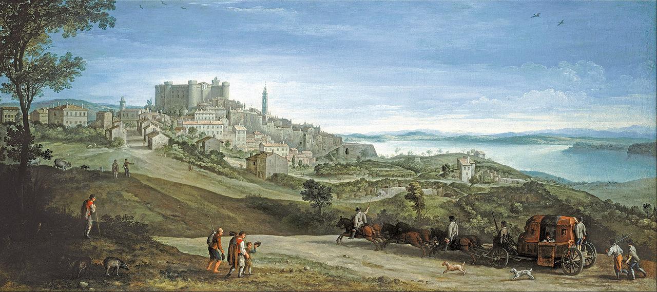View of Bracciano, 1620