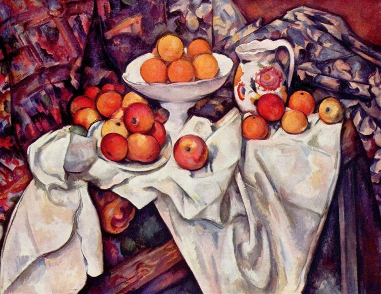 Apples and Oranges, c.1900 - Paul Cezanne