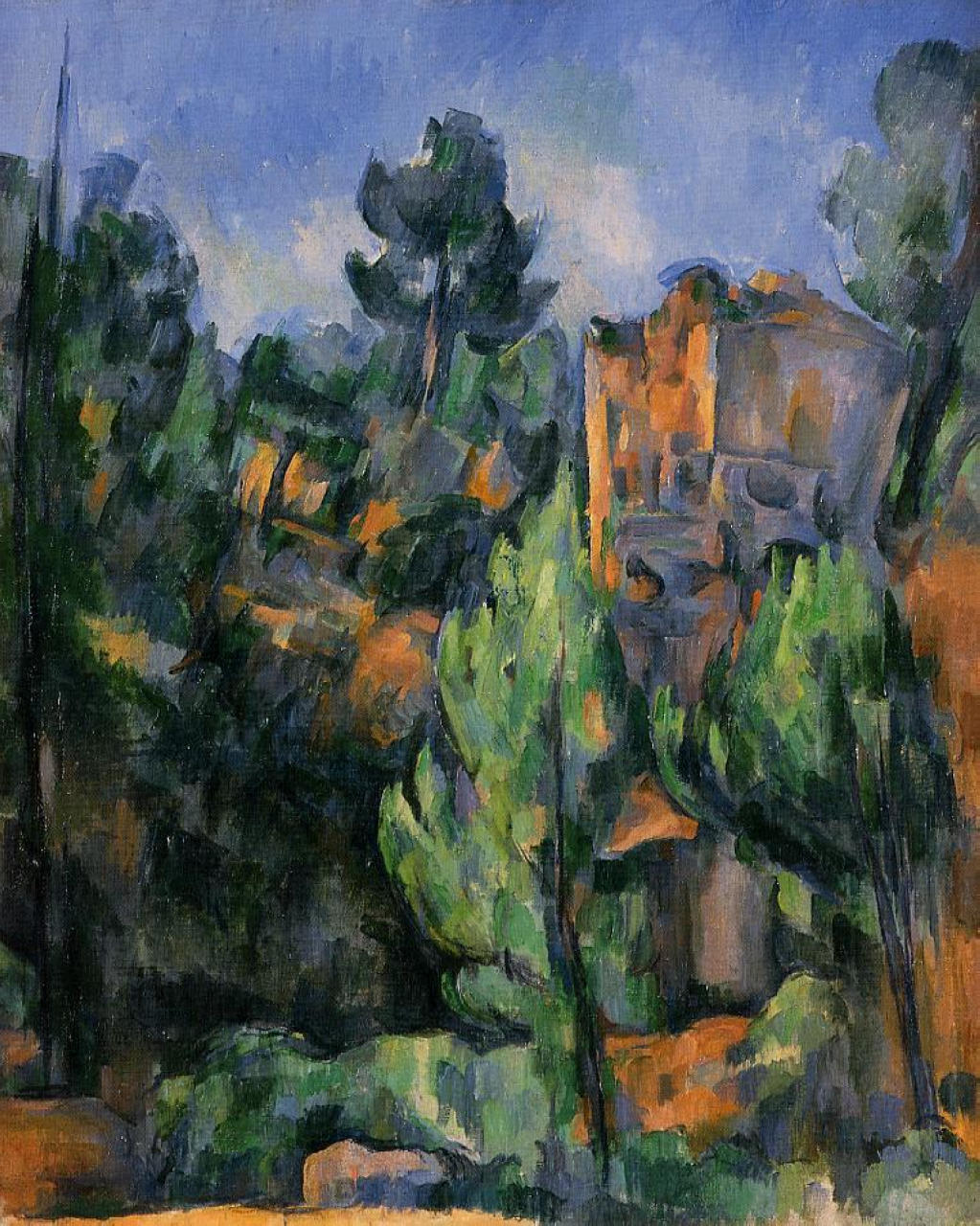 what is paul cezanne famous for