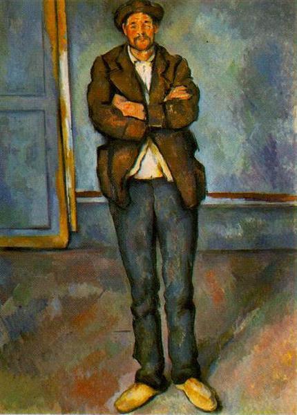 Man in a room, 1890 - Paul Cezanne