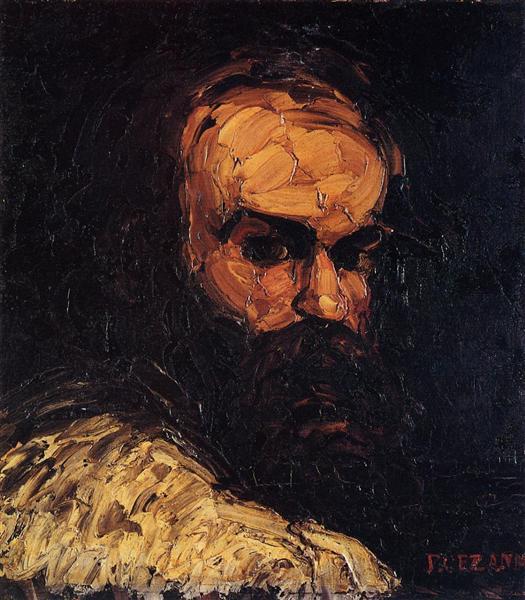 Self-Portrait, 1866 - Paul Cezanne