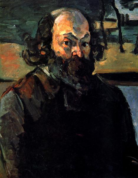 Self-portrait, 1875 - Paul Cezanne