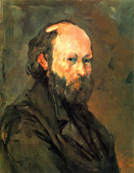 Self-Portrait, 1880 - Paul Cezanne